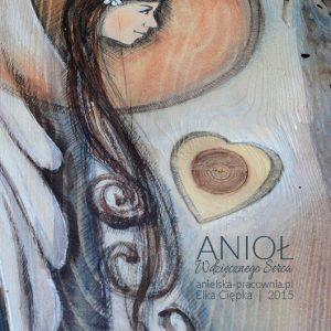 """""""Anioł Wdzięcznego Serca"""" to oryginalny prezent oraz podziękowanie dla Rodziców od Pary Młodej na weselu lub podczas błogosławieństwa"""