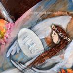 Anioł Pierwszej Komunii Świętej to piękny prezent na komunię dla dziewczynki