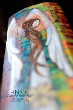 Anioł Wszystkich Kolorów Życia - prezent z najlepszymi życzeniami na całe życie