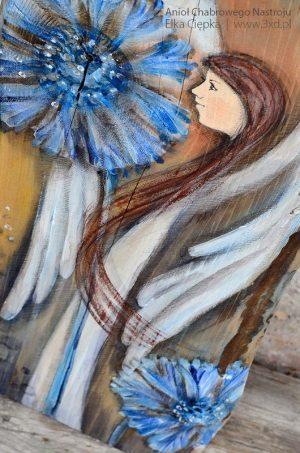 """""""Anioł Chabrowego Nastroju"""" to prezent dla każdego kochającego polne kwiaty"""
