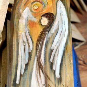 """""""Anioł Zawsze w Pobliżu"""" zawsze będzie w pobliżu i kiedy tylko poczujesz, że potrzebujesz Jego pomocy"""