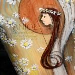 Anioł Obsypany Kwieciem to doskonały prezent na każdą okazję - chrzciny, na komunię lub na ślub