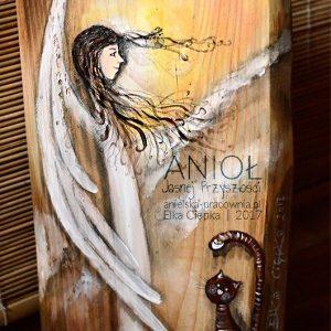 Anioł Jasnej Przyszłości - najlepszy prezent na chrzest
