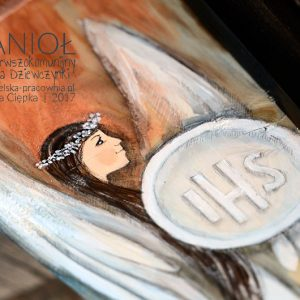 Anioł Pierwszokomunijny dla Dziewczynki to najlepszy prezent na Komunię Świętą - oryginalny prezent komunijny