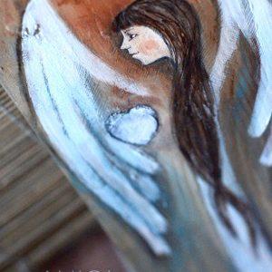 """""""Anioł Niewinnego Serduszka"""" to doskonały Anioł zarówno na chrzest jak i na komunię świętą"""