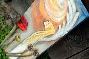 Makowy Anioł Ciepłych Życzeń może wyrazić wszystko bez zbędnych słów