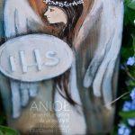 Anioł Pierwszokomunijny dla Dziewczynki topiękny prezent z okazji Pierwszej Komunii Świętej