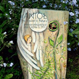 Anioł w Zgodzie z Naturą - prezent dla chłopca na komunię