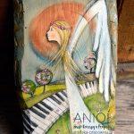 Anioł Śmiało Kroczący przez Życie będzie wspierał podczas trudnej sztuki przedzierania się przez życie