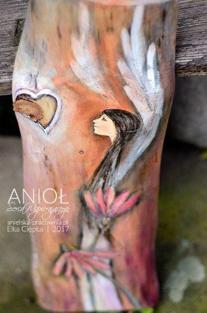 Anioł Serca Wspierającego to prezent dla tego, kogo wspierasz całym sercem