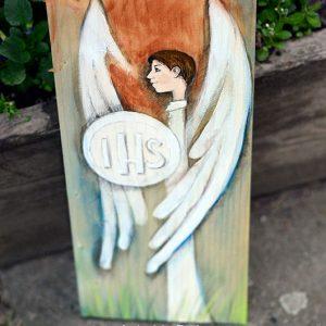 Anioł Hostii to prezent dla chłopca z okazji Pierwszej Komunii Świętej