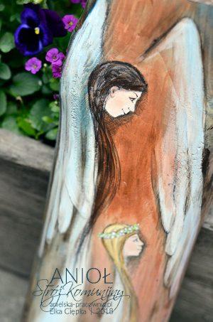 Anioł Stróż Komunijny to wspaniały prezent dla dziewczynki na Pierwszą Komunię Świętą