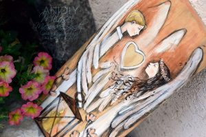 Anioły Milości i Małżęńskiej Zgody to piękny prezent na ślub dla Młodej Pary