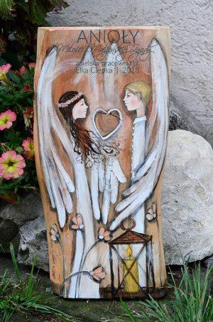 Anioły Miłości i Małżeńskiej Zgody to idealny prezent na ślub dla nowożeńców