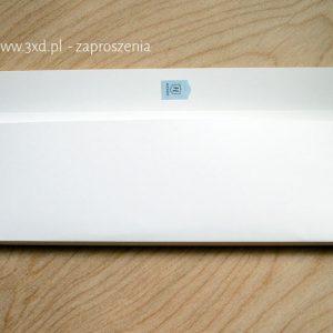 koperty/pudełeczka w nietypowym rozmiarze na zaproszenia ręcznie robione